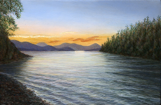 How To Paint Ripples Water