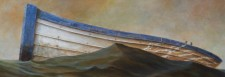 """Cradle"", 2011, Acrylics on Canvas, Detail, by David Jay Spyker"