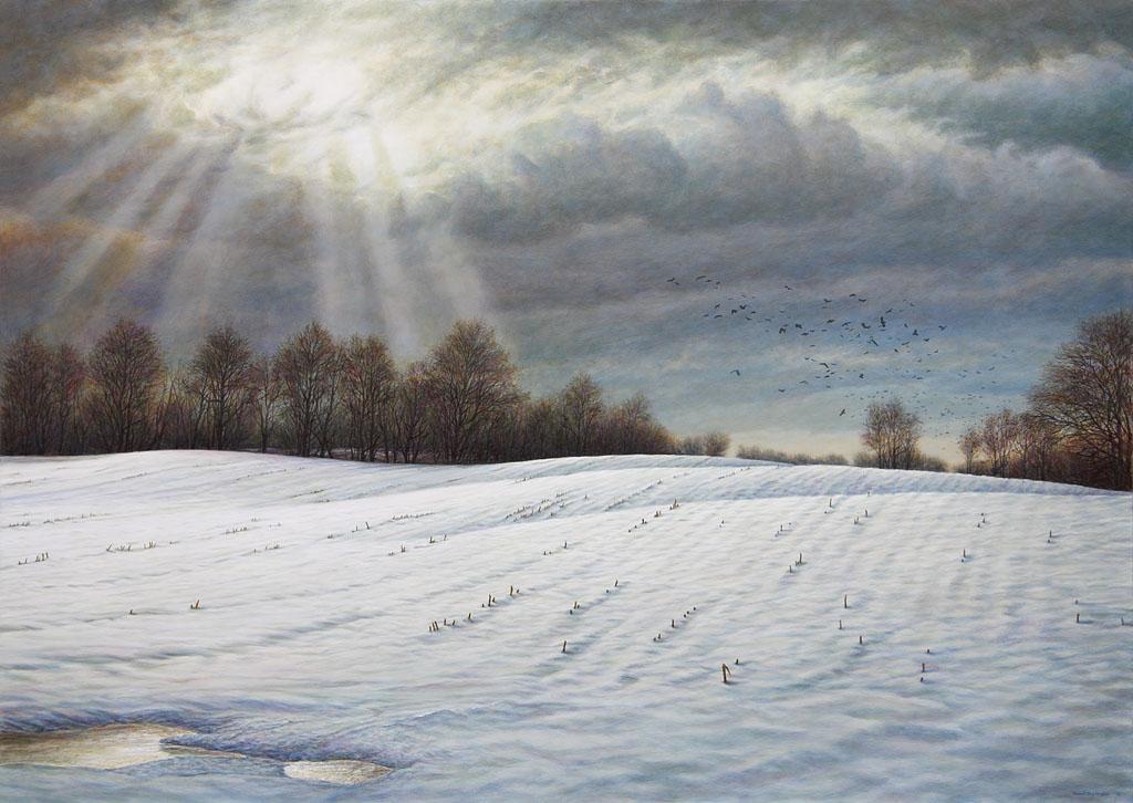 David Jay Spyker Art Acrylic